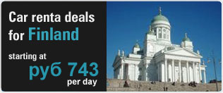 Rent a car for finland